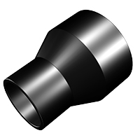 2.5 Inch To 1.75 Inch Hose Reducer